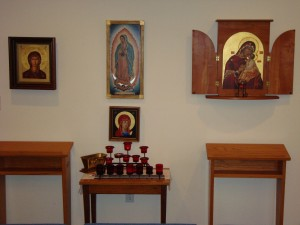 Chapel for meditation